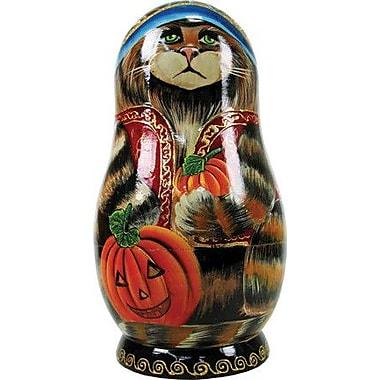 G Debrekht Russia Halloween Ornament Doll