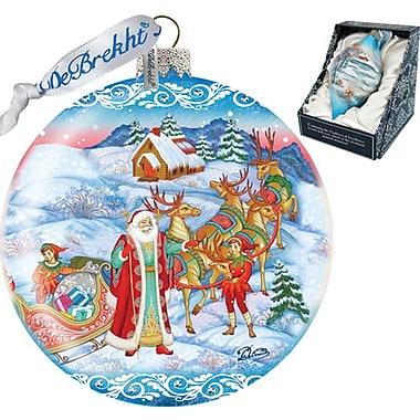 G Debrekht Limited Edition Beloved Courier Ornament