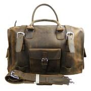 Vagabond Traveler 18'' Leather Travel Duffel