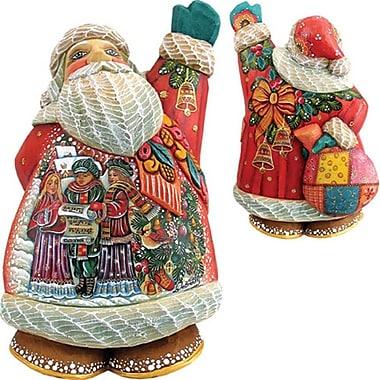 G Debrekht Derevo Christmas Chorus Santa