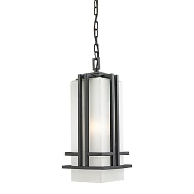 Z-Lite Abbey 1-Light Outdoor Pendant; 18'' H x 7.75'' D