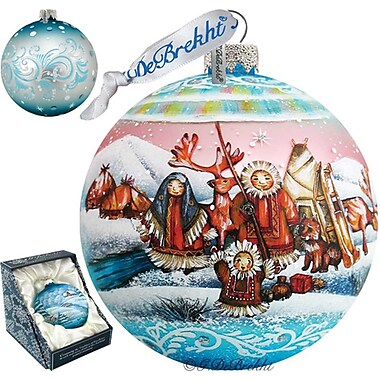 G Debrekht Northern Light Ball Ornament