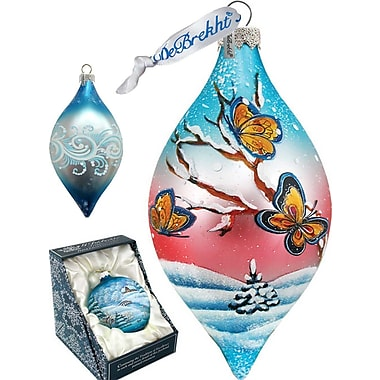 G Debrekht Led Butterfly Drop Ornament