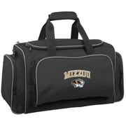 Wally Bags NCAA Collegiate 21'' Gym Duffel; Missouri Tigers