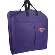 Wally Bags NCAA Suit Length Garment Bag; Clemson
