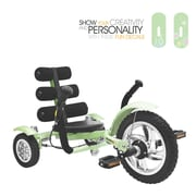 Mobo Mobo Mini- The World's Smallest Luxury Three Wheeled Cruiser; Green