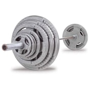 Body Solid 400 lbs Cast Grip Olympic Set