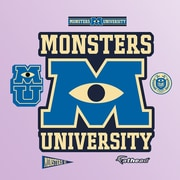 Fathead Disney Monsters University Logo Wall Decal