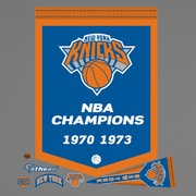 Fathead NBA Championship Banner Wall Decal; New York Knicks