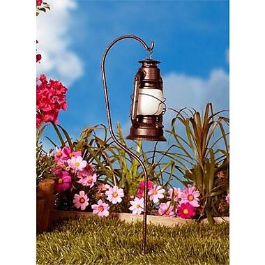 Dabmar Lighting 1 Light Pathway Light; Rust