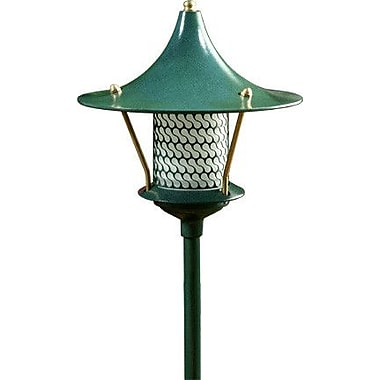 Dabmar Lighting 1 Light Pathway Light; Green