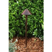 Dabmar Lighting 1-Light Pathway Light; Antique Bronze