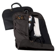 Royce Leather Royce Leather Garment Bag Travel Luggage in Genuine Leather; Black