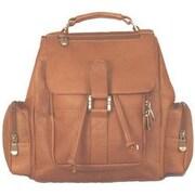 David King Mid Size Top Handle Backpack; Tan