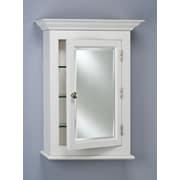 Afina Wilshire I 25.75'' x 30.13'' Surface Mount Medicine Cabinet; White