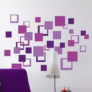 Brewster Home Fashions Euro Squares Wall Decal