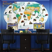 Brewster Home Fashions National Geographic Animals Of The World Wall Mural