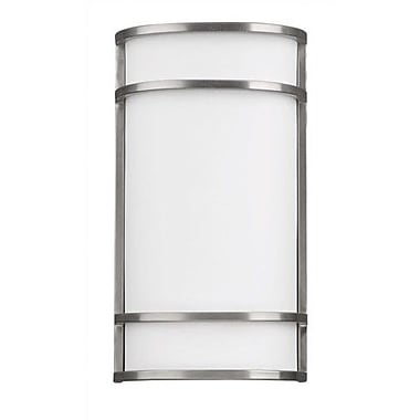 Philips Palette 2-Light Wall Sconce; Satin Nickel