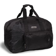 J World Buena 19.5'' Folding Carry-On Duffel; Black