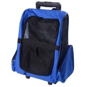 Pawhut Deluxe Travel Pet Carrier; Blue