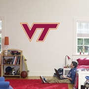 Fathead College Teams NCAA Logo Wall Decal; Virginia Tech