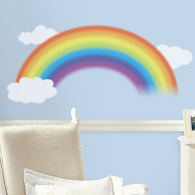 Room Mates Room Mates Deco Over The Rainbow Wall Decal WYF078275788327