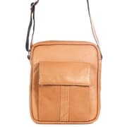 David King Premier Messenger Bag; Tan