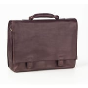 Clava Leather Tuscan Leather Briefcase; Caf