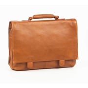 Clava Leather Tuscan Leather Briefcase; Tan