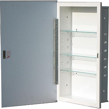 American Pride Oxford 16.5'' x 30.5'' Recessed Medicine Cabinet