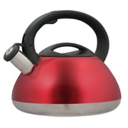 Creative Home Sphere 3-qt. Whistle Tea Kettle; Metallic Cranberry