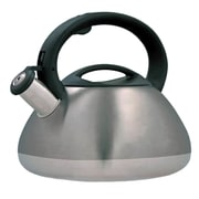 Creative Home Sphere 3-qt. Whistle Tea Kettle; Metallic Smoke