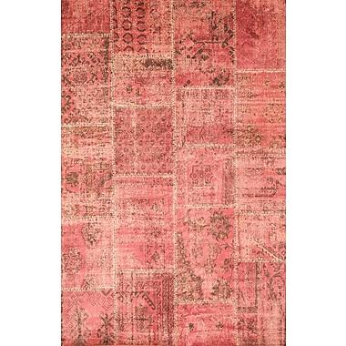 Abacasa Sonoma Raspberry Area Rug; 7'10'' x 11'2''