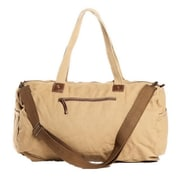 Vagabond Traveler 19.7'' Crossbody Shoulder Gym Duffel; Khaki
