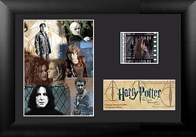 Trend Setters Harry Potter 7 Part 2 Mini FilmCell Presentation Framed Vintage Advertisement