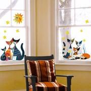 Platin Art Cats Window Sticker
