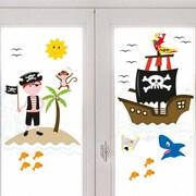Platin Art Pirates of The Window Sticker