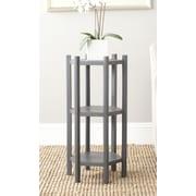 Safavieh Leonie Multi-Tiered Telephone Table; Charcoal Grey