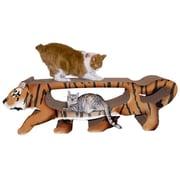 Imperial Cat Scratch 'n Shapes Tiger Cardboard Scratching Board