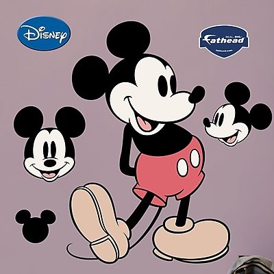 Fathead Disney Classic Mickey Mouse Wall Decal WYF078276137085