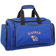 Wally Bags NCAA Collegiate 21'' Gym Duffel; Kansas Jayhawks