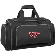 Wally Bags NCAA Collegiate 21'' Gym Duffel; Virginia Tech Hokies
