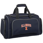 Wally Bags NCAA Collegiate 21'' Gym Duffel; Illinois Fighting Illini