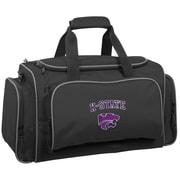 Wally Bags NCAA Collegiate 21'' Gym Duffel; Kansas State Wildcats