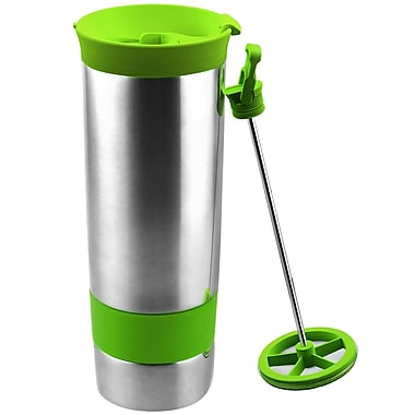 AdNArt The Hot Press Coffee Maker; Jelly Lime