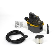 WORKSHOP 4 Gallon 5.0 Peak HP Portable Wet / Dry Vacuum