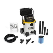 WORKSHOP 16 Gallon 6.5 Peak HP Stainless Steel Wet / Dry Vacuum