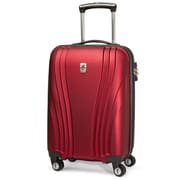 Atlantic Luggage Lumina 20'' Hardsided Spinner Suitcase; Red