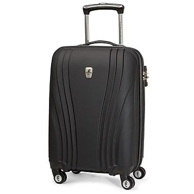 Atlantic Luggage Lumina 20'' Hardsided Spinner Suitcase; Black