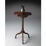 Butler Plantation Cherry End Table; Distressed Cherry